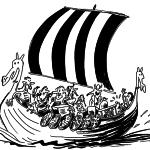 Siggi & de vikingen - de Steen van Eileen, uitgeverij Moon, Amsterdam