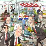 rechtse lijsttrekkers op de markt, Elsevier magazine
