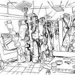 Peter Schuyff studio